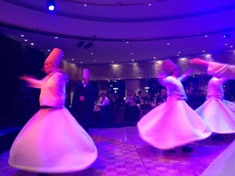 Whirling Dervishes Perform at Commonwealth Bank Iftar