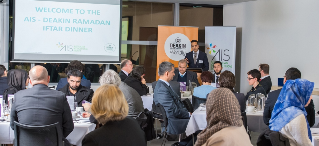 Deakin University in collaboration with AIS Iftar and Gulen Chair Signing