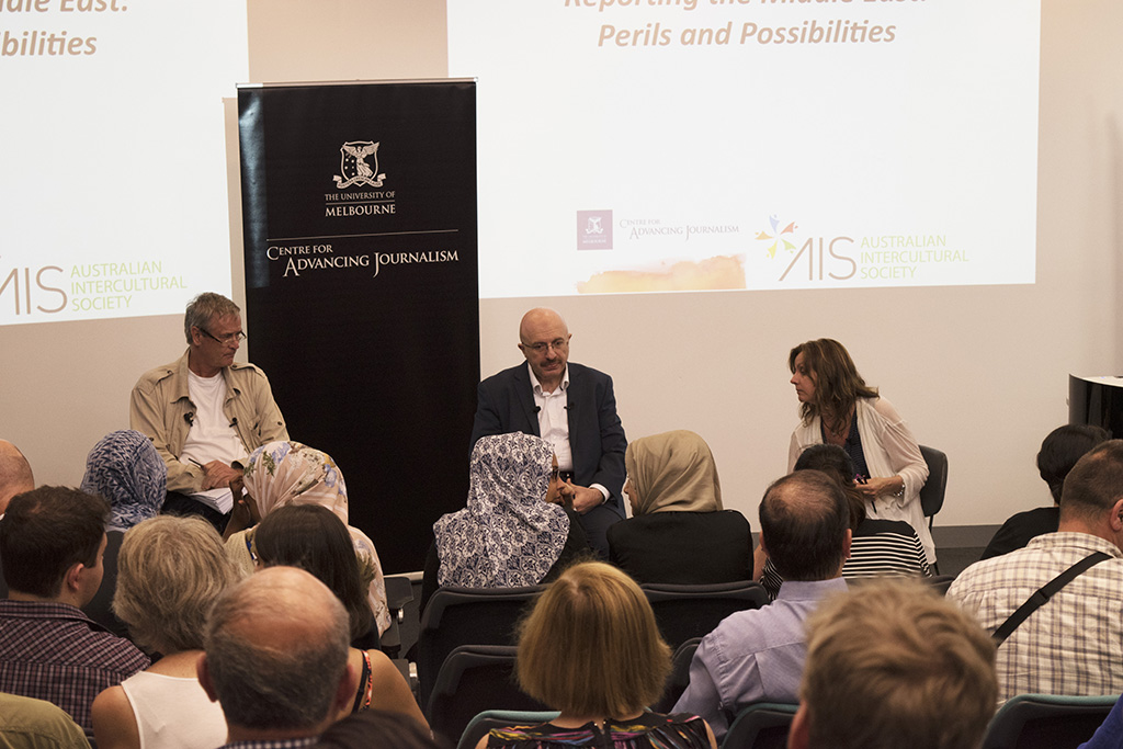 Reporting the Middle East: Perils and possibilities