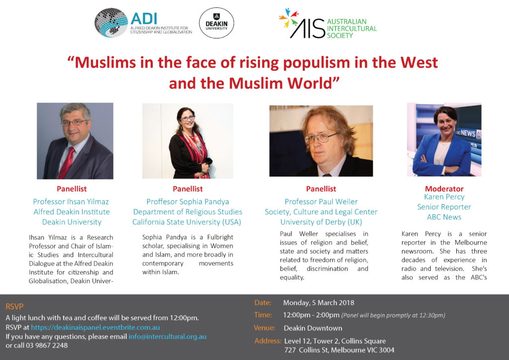 Muslims in the face of rising populism in the West and the Muslim World