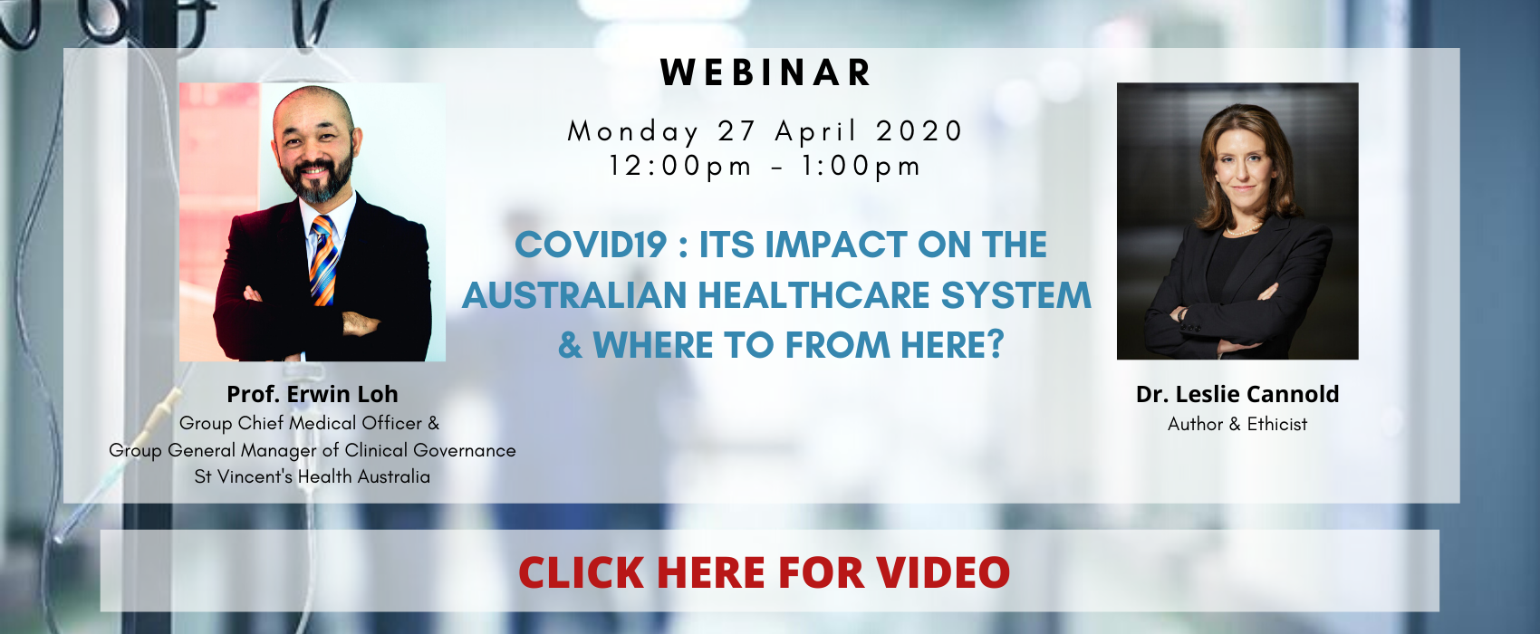 COVID 19: Its Impact On the Australian Healthcare System & Where To From Here?